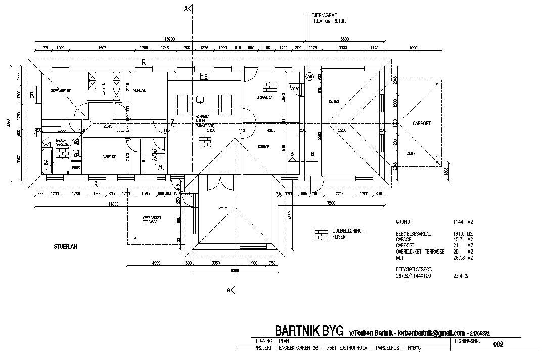 projektering af byggeri